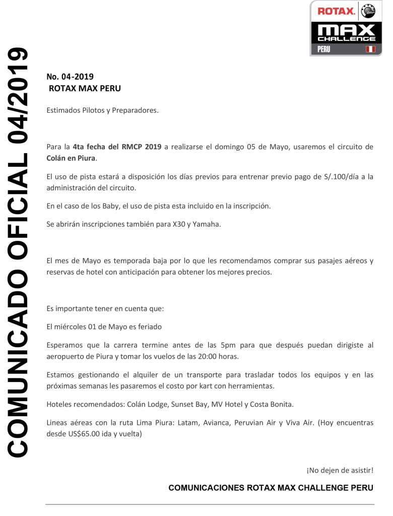 Microsoft Word - comunicado 04 -2019.docx